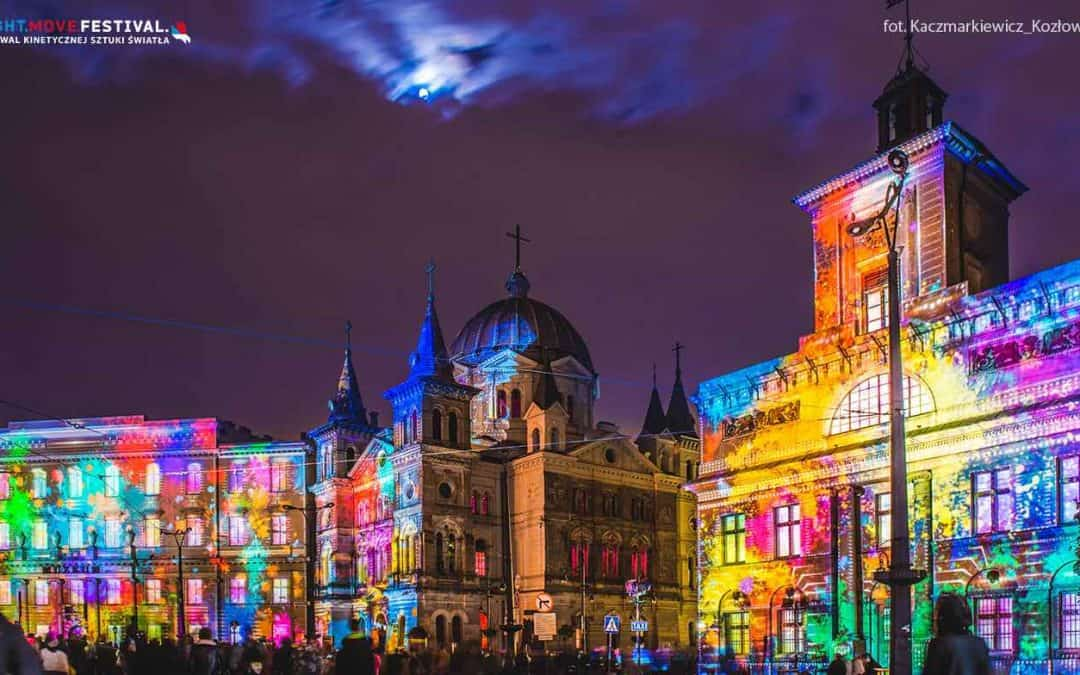 Light Festival in Łódź