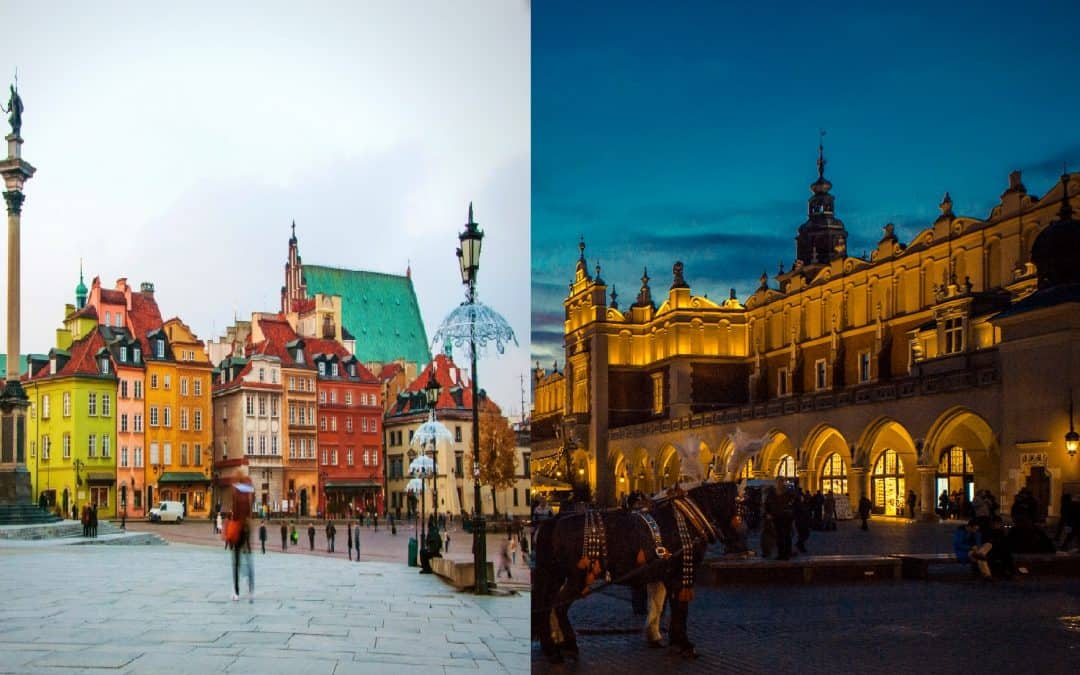 Krakow and Warsaw listed in the 10 cheapest cities in Europe to visit