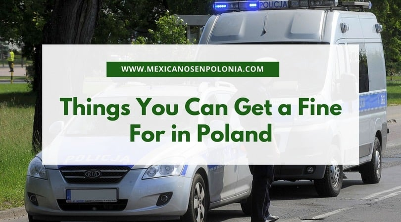 Things You Can Get a Fine For in Poland