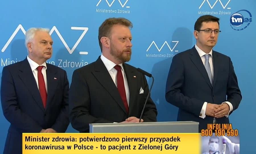 Minister of Health of Poland - Łukasz Szumowski