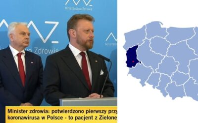 First Case of Coronavirus Confirmed in Poland