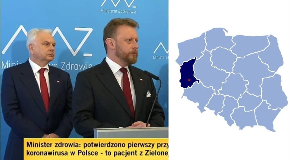 Primer Caso de Coronavirus Confirmado en Polonia